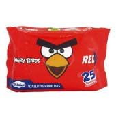 Toallitas Humedas Angry Birds 25und