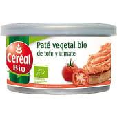 Paté vegetal de tofu y tomate ecológicos