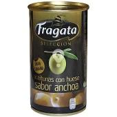 Aceitunas con hueso sabor anchoa