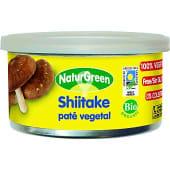 Paté vegetal de shiitake ecológico