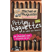 Petits baguettes con chocolate negro