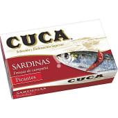 Sardinas picantes en aceite