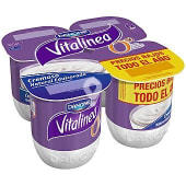 Yogur Natural Cremoso Edulcorado Vitalinea de Danone