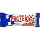 Barrita proteica sabor vainilla y cookies