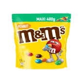 M&M's Chocolate Amendoim Saqueta 400g