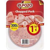chopped pork en lonchas