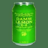 Damm Lemon cerveza lata 33cl