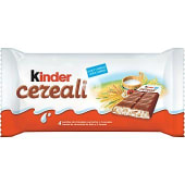 Cereali 4 barritas de chocolate con leche y 5 cereales