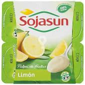 Especialidad fresca de soja con pulpa de limón