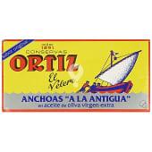 Filetes de anchoa a la antigua en aceite de oliva virgen extra