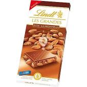 Chocolate Les Grandes con leche con 32% de almendras