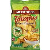 Nachos fritos de maíz tortilla chips Totopos