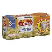 Aceitunas Te Cuida rellenas de anchoa con omega 3