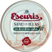 Sardinillas en aceite de oliva 35-40