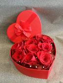 Cvjetna kutija srce