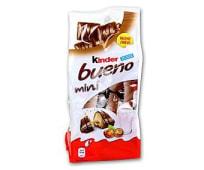 Mini barritas rellenas de leche y avellanas recubiertas de chocolate con leche