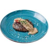 Вирізка з телятини з соусом із чорного перцю (220г)