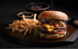 Дабл бургер (490г)
