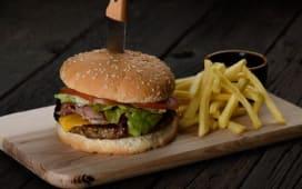 Кентуккі бургер (370г)