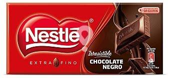Chocolate negro extrafino sin glutén