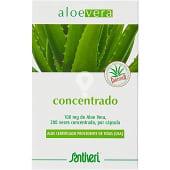 Aloe vera concentrado cápsulas