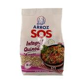 Arroz integral con quinoa y 4 cereales
