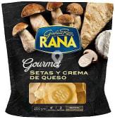 Pasta fresca rellana de trufa blanca con setas y queso