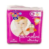 Pannolini ultra dry - XL, 13-27 KG