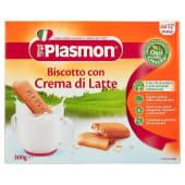 Alimento per l'infanzia Biscotto con crema di latte A norma del D.P.R. n. 128 del 7.4.99