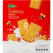 Galleta con relieve