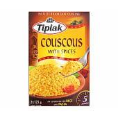 Couscous con especias
