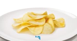 Batata Frita às rodelas