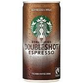 Café espresso con leche Doubleshot espresso
