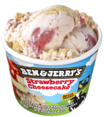 Ben&Jerry's Strawberry Cheesecake 100ml