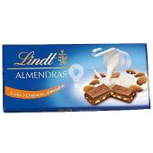 Chocolate leche con almendras
