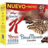 Barrita cereales biscuit moments chocolate