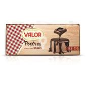Chocolate para postres puro