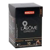 Café espresso ristretto en cápsulas L'Arôme Espresso