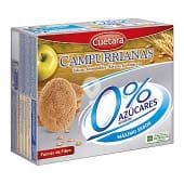 Galletas campurrianas 0% sin azúcares añadidos