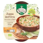 Cucina Sartor, Bio Zuppa dell'Orto con orzo e farro surgelato 300 g