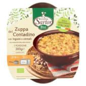 Cucina Sartor, Bio Zuppa del Contadino con legumi e cereali surgelato 300 g