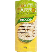 Tortitas de arroz integral biológicas sin sal