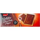 Galletas con tableta de chocolate negro