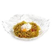 Yakisoba Vegetal con huevo a baja temperatura