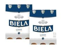2 Six Pack Biela Light Botella - 12 Unidades