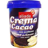 Crema de cacao con avellanas 2 sabores