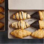 Goodies Mini Croissants Caixa 6un