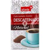 Café natural descafeinado molido