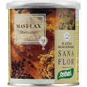 Laxante masticable a base de té