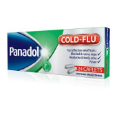 Panadol Cold and Flu Caplets 24s